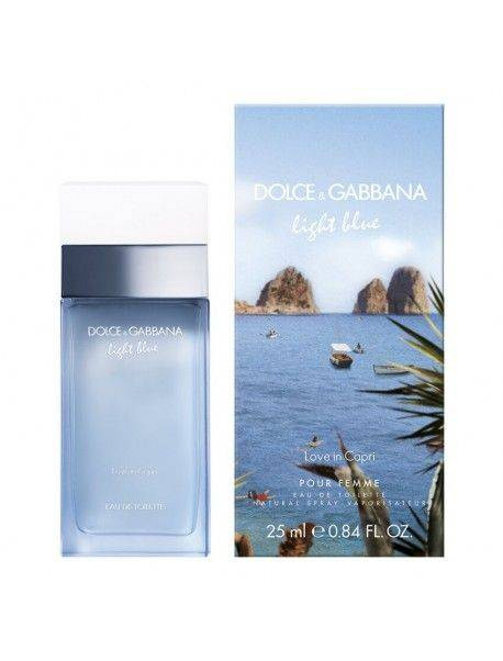Dolce e Gabbana Light Blue Femme LOVE IN CAPRI Eau de Toilette 25ml 0730870174098