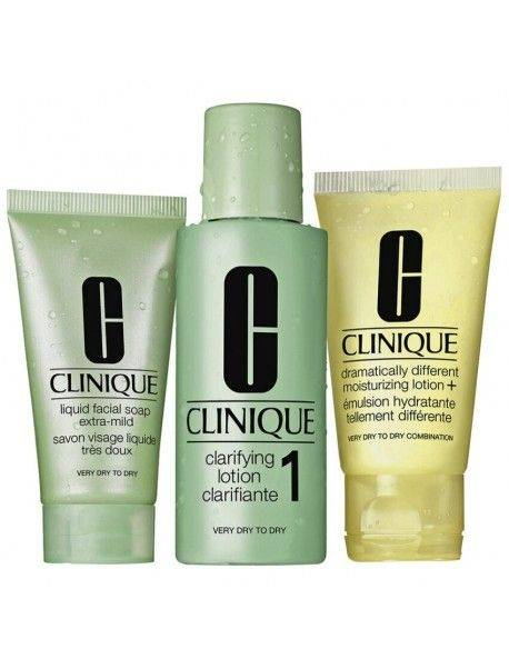 Clinique 3-STEP Introduction Kit Skin Type 1 0020714464059