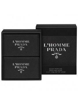 Prada L'HOMME Perfumed Soap 2x 100g