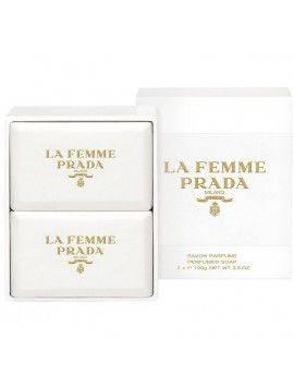 Prada LA FEMME Perfumed Soap 2x100g