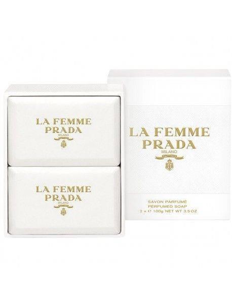 Prada LA FEMME Perfumed Soap 2x100g 8435137750443
