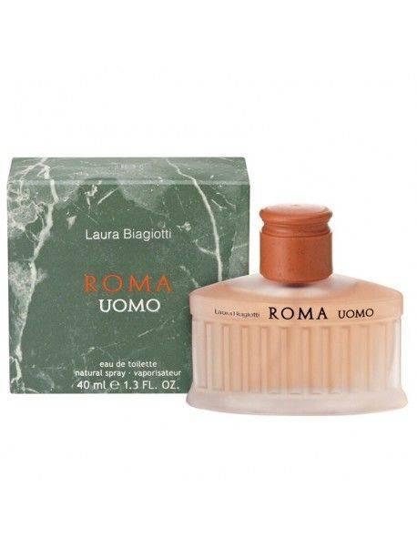 Laura Biagiotti ROMA UOMO Eau de Toilette 40ml 8011530000158