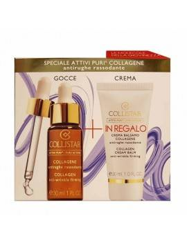 Collistar ATTIVI PURI Collagene 30ml + Crema Balsamo Collagene 30ml