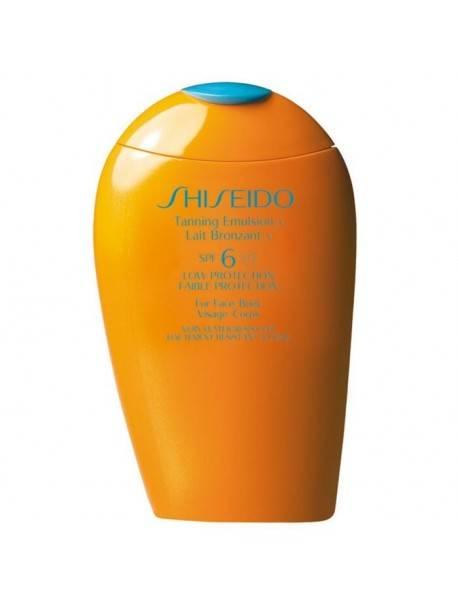 Shiseido SUN TANNING Emulsion SPF6 0768614126119