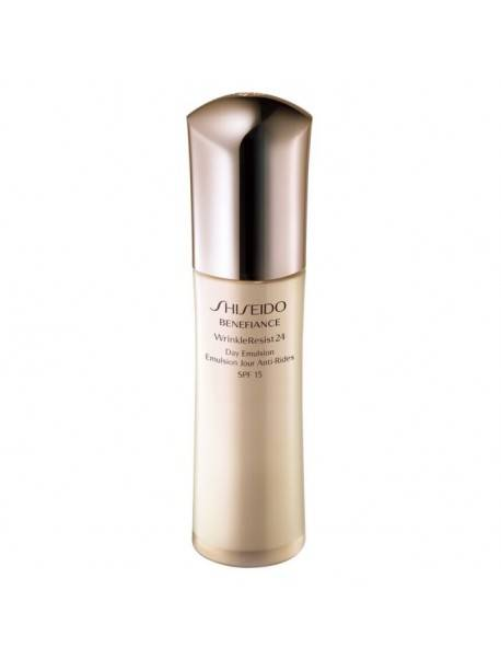 Shiseido BENEFIANCE WrinkleResist24 Day Emulsion SPF15 75ml 0768614103066