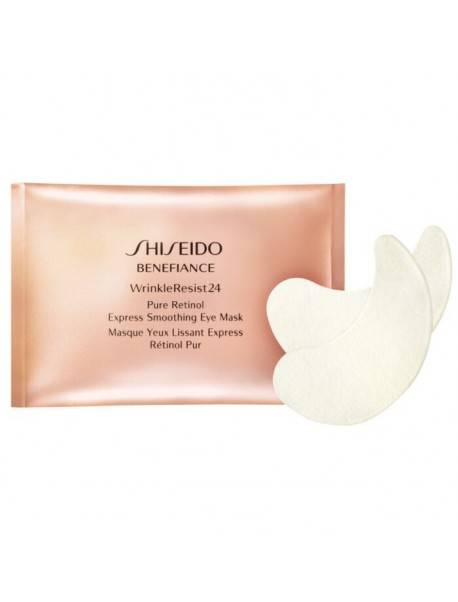 Shiseido BENEFIANCE WrinkleResist24 Pure Retinol Eye Mask 2 x 12pz 0729238110366