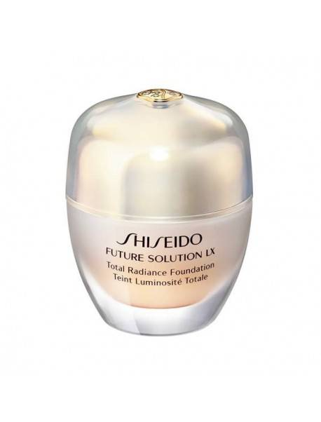 Shiseido Future Solution Xl Total Radiance Foundation I60 Natural Deep Ivory 0729238114333