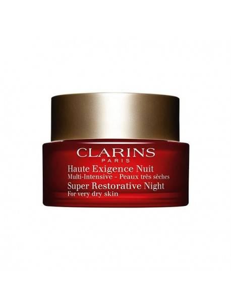 Clarins MULTI INTENSIVE Crème Nuit Peaux Très Sèches 50ml 3380811098104