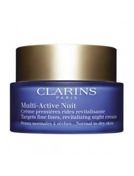 Clarins MULTI ACTIVE Crème Nuit Peaux Normales à Sèches 50ml