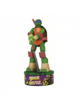 Cartoon Turtles Figura Leonardo 3D Gel Doccia 300ml