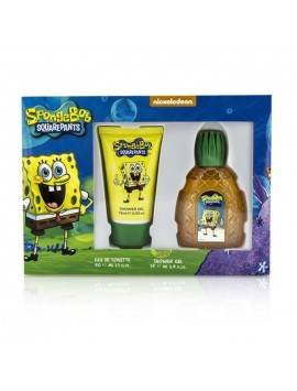Nickelodeon Squarepants Sponge Bob Eau De Toilette Spray 50ml Set 2 Parti