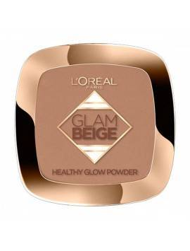 L'oreal Glam Beige Healthy Glow Powder 40 Medium Dark