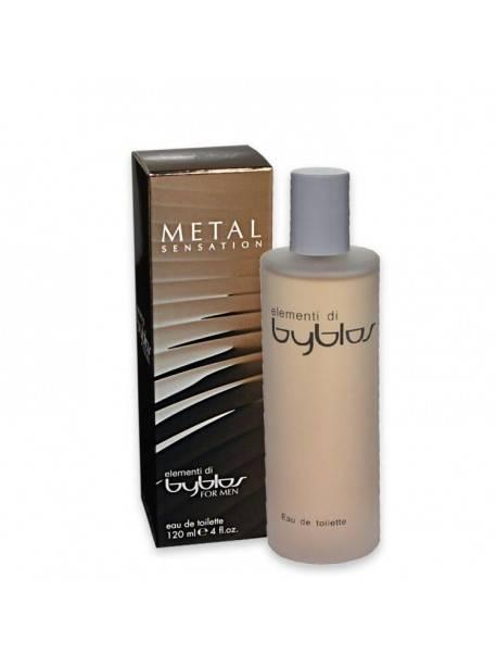 Byblos METAL SENSATION Eau de Toilette 120ml 8007033788235