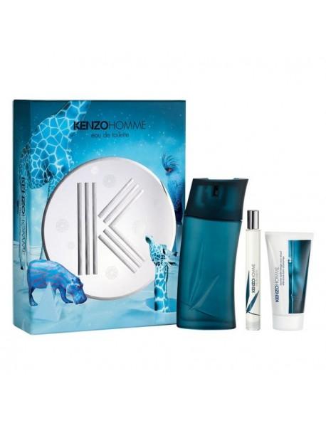Kenzo Homme Eau De Toilette Spray 100 ml gift set + dopobarba 50 ml + mini 15 ml 3274872354883