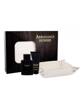 Arrogance HOMME Eau de Toilette 100ml gift set + shower gel 75 ml + svuotatasche