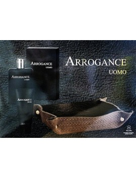 Arrogance UOMO Eau de Toilette 100ml gift set + shower gel 75 ml + svuotatasche