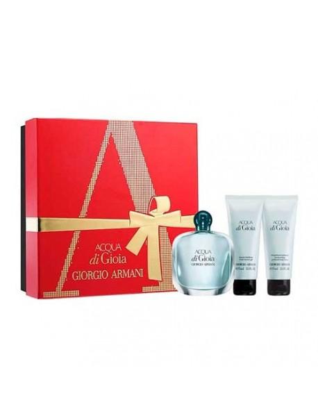 Armani ACQUA DI GIOIA Eau de Parfum 50ml gift set + shower gel 75 ml + body lotion 75 ml 3614271882356