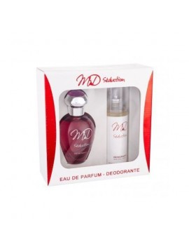 M&D SEDUCTION gift set edp 100 + deo