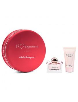 Ferragamo SIGNORINA Eau de Parfum 30ml gift set + body lotion 50 ml