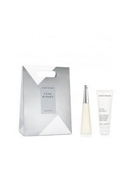 Issey Miyake L'eau D'issey gift set Eau De Toilette Spray 25ml+body lotion 75m l