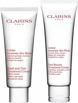 CLARINS CORPO gift set crema mani 100ml+crema piedi 125ml