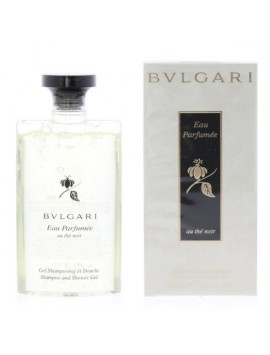 Bulgari Eau Parfumée Au The Noir Shower Gel 200ml