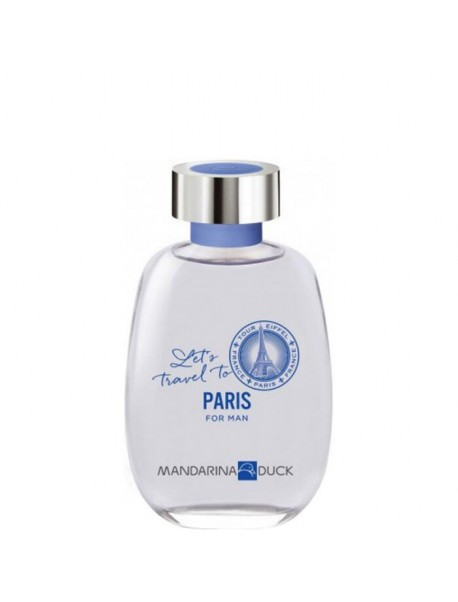 Mandarina Duck Let's Travel To Paris For Man 100ml 8427395014986