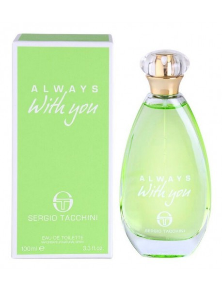 Sergio Tacchini ALWAYS WITH YOU Eau de Toilette 100ml 8002135119000