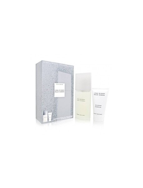 Issey Miyake L'eau D'issey Homme gift set edt 75vp+doccia 100ml 3423473130352