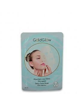 GOLDGLOW maschera viso 20 ml detox