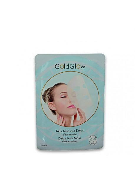 GOLDGLOW maschera viso 20 ml detox 8809089291857