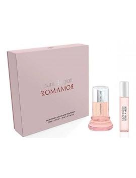 Laura Biagiotti ROMAAMOR DONNA gift set 25sp+10ml
