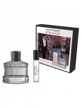 Laura Biagiotti ROMAAMOR UOMO gift set 75sp+10ml