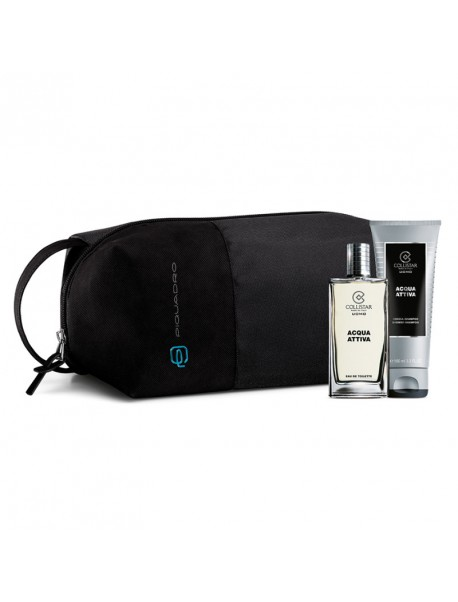 COLLISTAR PQ Gift Set Uomo Acqua Attiva edt50ml+dc100 8015150281225