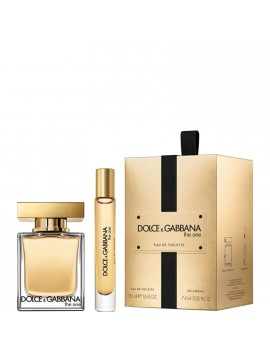 Dolce & Gabbana THE ONE Gift Set eau de toilette 50+roller