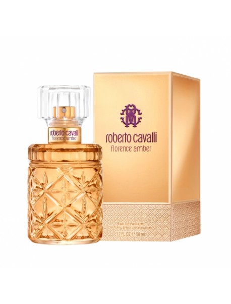 Roberto Cavalli FLORENCE AMBER Eau de Parfum 50ml 3614225106781