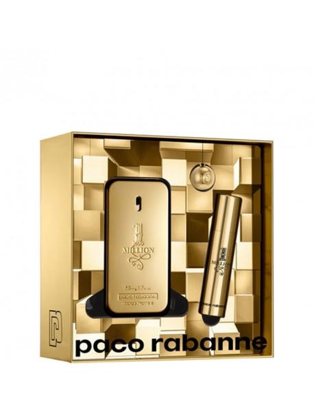 Paco Rabanne 1 MILLION Gift Set edt 50ml+10 ml 3349668571604