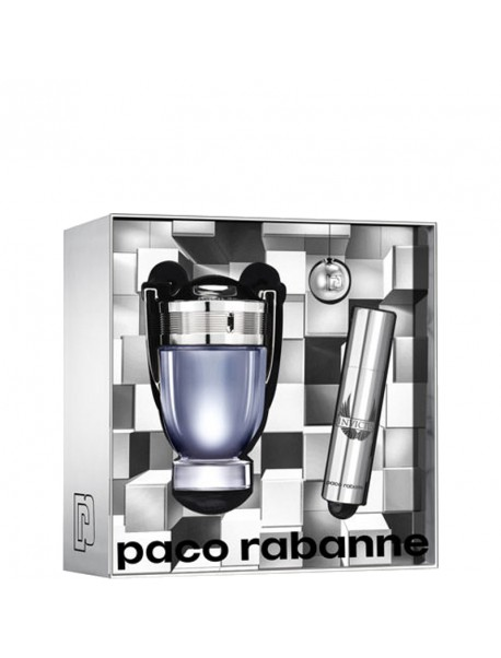Paco Rabanne Invictus Gift Set edt 50ml+10 ml 3349668571628