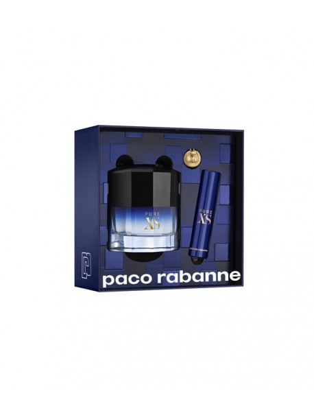 Paco Rabanne Pure Xs Gift Set edt 50ml+10ml 3349668571727