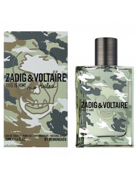 Zadig & Voltaire THIS IS HIM NO RULES Eau de Toilette 50ml