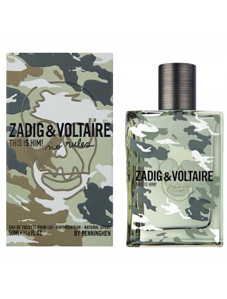 Zadig & Voltaire THIS IS HIM NO RULES Eau de Toilette 50ml 3423478459755
