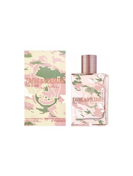 Zadig & Voltaire THIS IS HER NO RULES Eau de Parfum 50ml 3423478460256