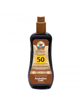 Australian Gold Spray Gel With Instant Bronzer Spf50 237ml