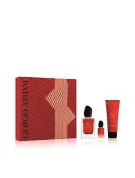 Armani SI PASSIONE Set Eau de Parfum 50 + lt75 + mini