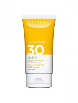 Clarins SOLE gel huile corpo SPF30 ml150