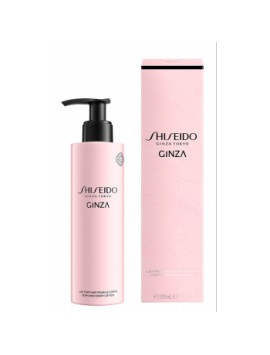 Shiseido GINZA latte corpo 200 ml