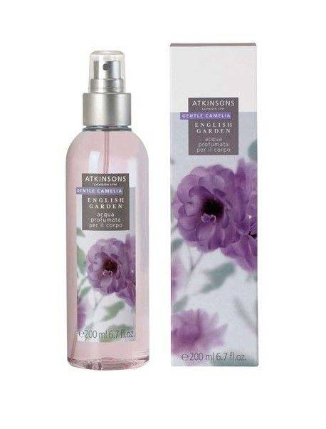 Atkinsons English Garden GENTLE CAMELIA Acqua Profumata per il corpo 200ml 0737052169927