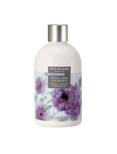 Atkinsons English Garden GENTLE CAMELIA Bagno Doccia Vellutante 300ml 0737052169804