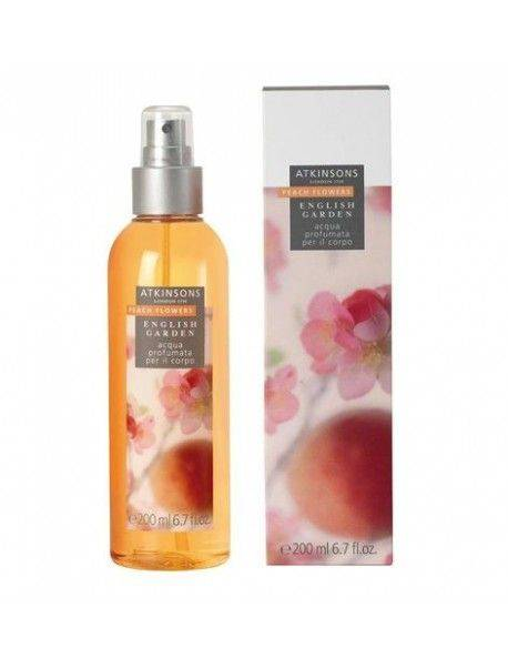Atkinsons English Garden PEACH FLOWERS Acqua Profumata per il Corpo 200ml 737052169767