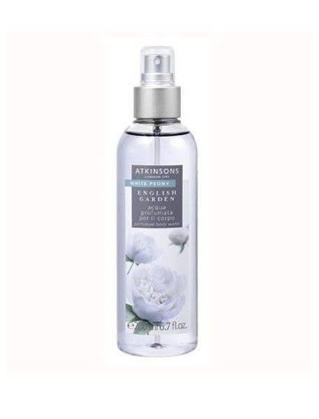 Atkinsons English Garden WHITE PEONY Acqua Profumata per il Corpo 200ml 8002135105225